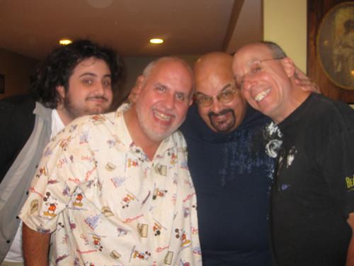 Joe, John, Glenn, and Joe