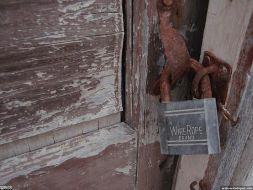 Wire Rope Lock - My photo