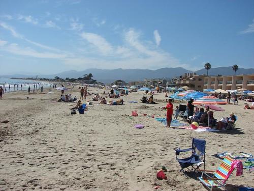 Beach at Carpinteria