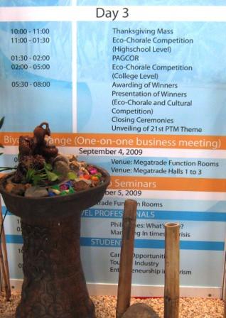 Philippine Travel Mart Day 3 Schedule