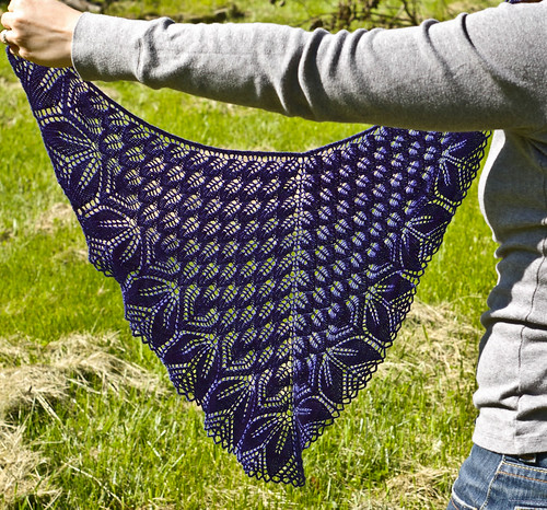 shawl in sunshine