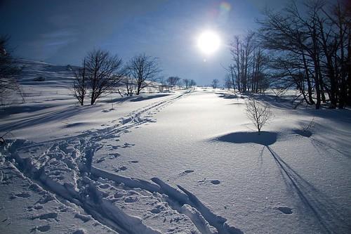 Una traccia per salir sul sole