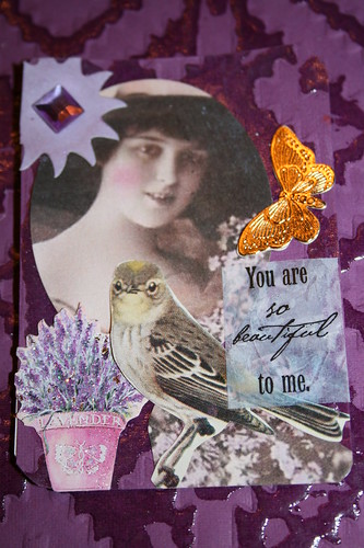 You are beautiful ATC for MAMMA challenge by DianthusMoon.