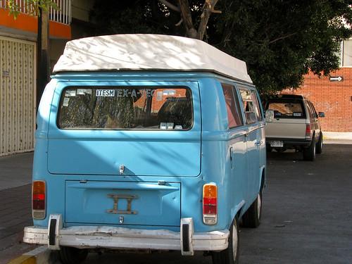 El exatec que vivia en su VW microbus