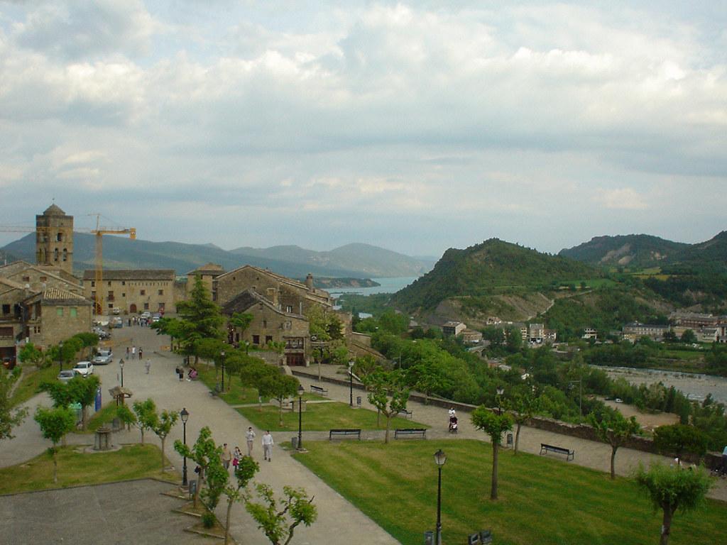 Panorámica de Aínsa (Huesca)