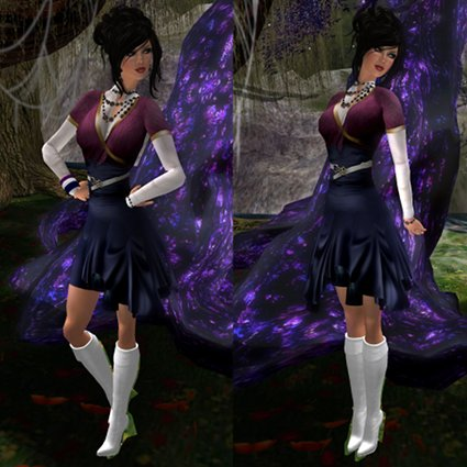 Zaara - Larin Skirt (Navy) Composite