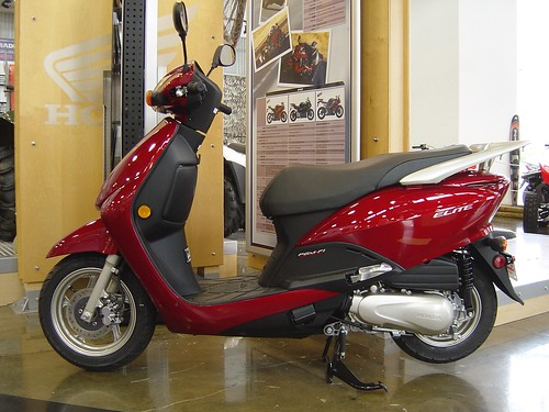 Finally here, the Honda Elite 110!