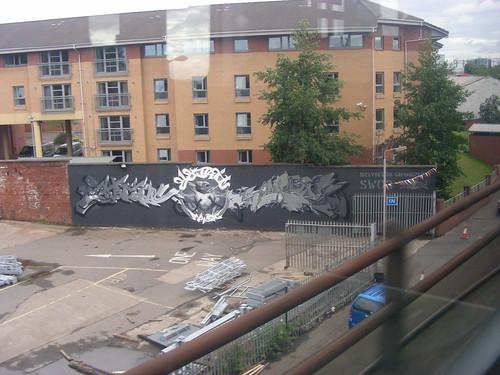 partick graffiti