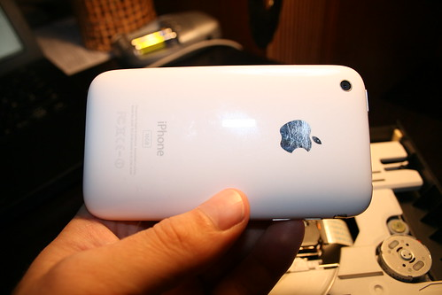 My iPhone 3G - ready to get a camera makeover.
