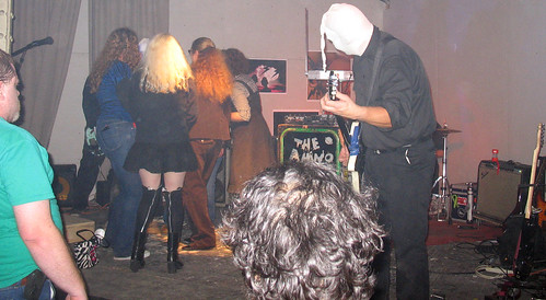 20081115 - SubGenius Baltimore Devival #2 - Carolyn - up on stage - Amino Acids - (by RadioFreeMountairy@Flickr) - 3034821153_31a1bbd26b_o - please click through to leave a comment on FlickR