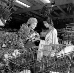 Women in a Publix grocery store: Tallahassee, Florida