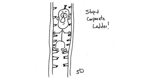 Stupid Corporate Ladder