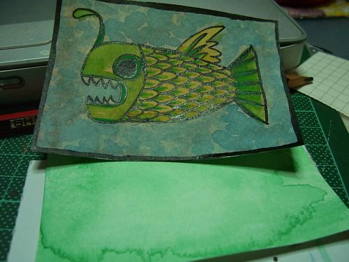 Green Lantern Fish