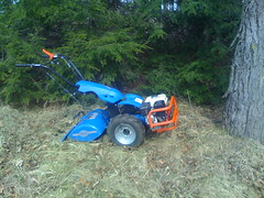 Rented rototiller by jpmiller, on Flickr