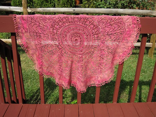 Secret Garden Shawl (Fence)