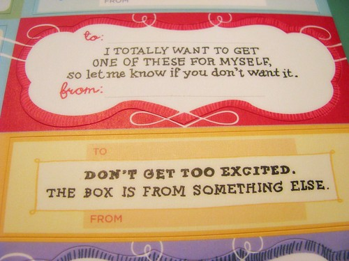 Bend the Rules Gift Labels