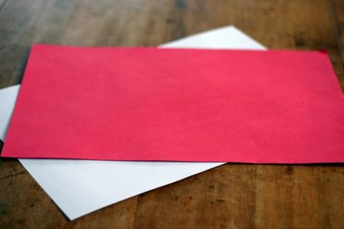 Woven Paper Valentine Hearts - 1