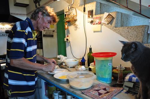 Peter preparing Baccala