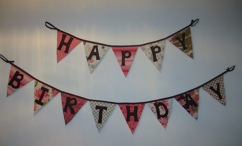 Birthday Banner, Girl's Side