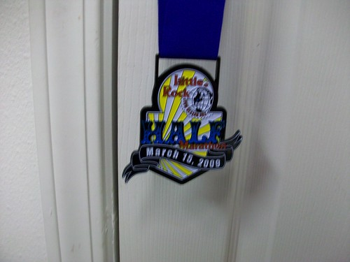 My finisher's medal