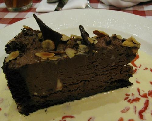 Chocolate Pecan Cluster at Italianni's
