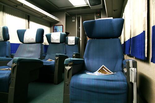 Hotel Tren Preferente Seats