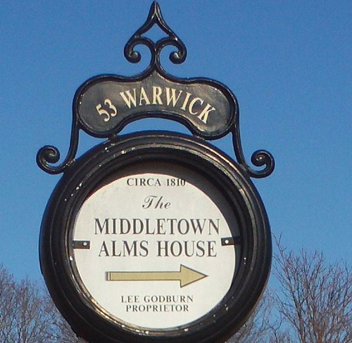Middletown Alms House (sign) R