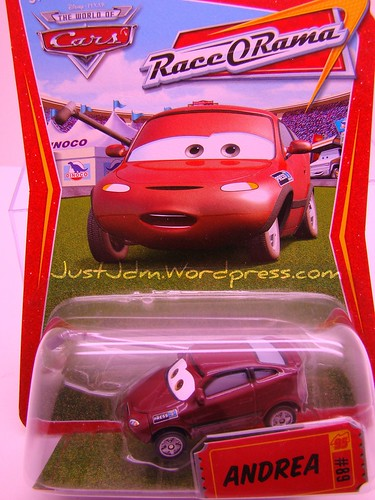 Disney CARS Andrea