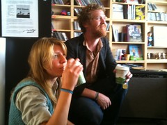 Marketa Irglova and Glen Hansard at NPR