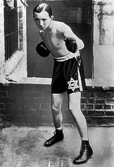 Mickey Cohen boxer, Los Angeles Times file photo, c. 1931