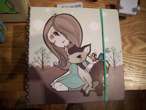 julie west sketchbook