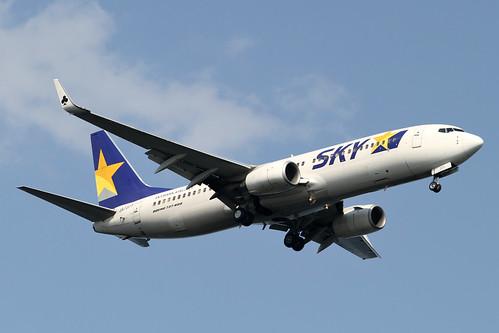Skymark B737-800(JA737T)