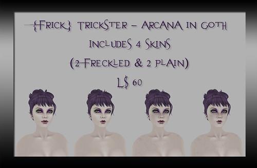 Frick Trickster - Arcana in Goth