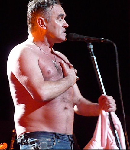 Used with Permission of WhippetGood via Flickr, who saw Morrissey in Buffalo on 3/19/09