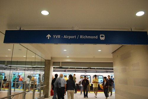 YVR-Airport/Richmond platform