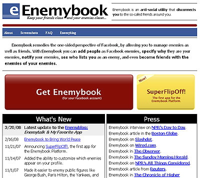 Pissed me off and you see yourself on my Enemybook