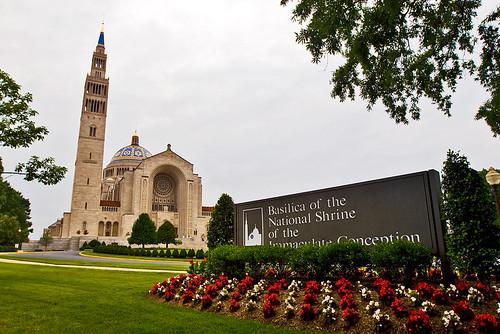 The exterior of the basilica. Quite impressive.