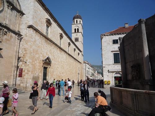 calle principal de la antigua Ragusa