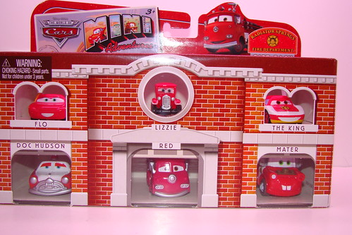 Target Exclusive CARS mini adventures 6 packs