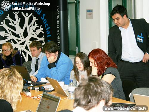 KMP Social Media Workshop10 Originally uploaded byinblackandwhiteseminars.