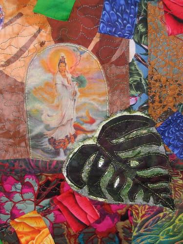 Kwan Yin quilt