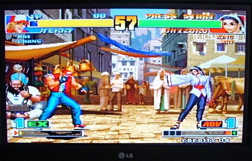 KOF 98 on TV