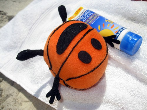 bally gets some sun