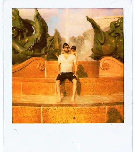 Lincoln Fountain Swimming