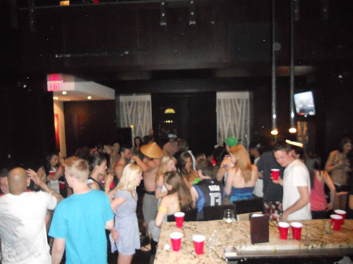 Yaletown Keg staff party