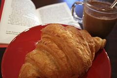Kakao mit Croissant statt Baguette geht sicher auch... :-)