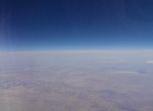 sky above desert.