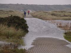 Langeoog - überflutete Wege