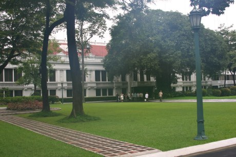 Malacanang Palace, photo shot from the Guard House of Gate 1