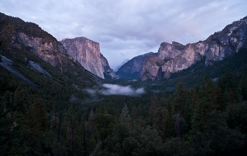 Fog in the Valley, Snow on El Capitan